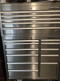 Craftsman Stainless Steel 16-Drawer Rolling Tool Chest Waldorf, 20601