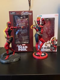 Collectibles, statues, figures, maquettes