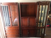 Beautiful Wood armoire cabinet