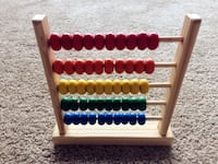 Wooden abacus  Alexandria, 22304