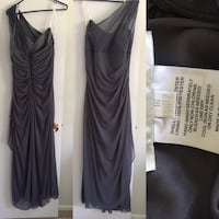 Pewter coloured dress Ritchot, R5A