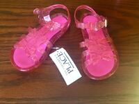 Girl's Sandals size 7T Brand New
