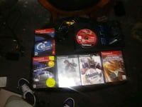 Phat PlayStation 2 with 15 games 2 controllers Akron, 44301