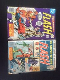 Two the flash dc comic books Killeen, 76542