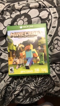 Minecraft Xbox One game case Hazleton, 18201