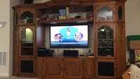 Solid wood entertainment center Xenia, 45385