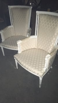 Two wing back chairs $60 Hamilton, L8H 5Z4