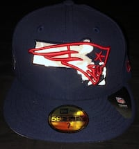 NEW ITEM: New England Patriots NFL The State of Massachusetts - New Era - 59FIFTY Cap Uxbridge