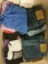 Lot of girls 10 12 clothes Shelby charter Township, 48317