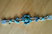 925 Sterling Silver and Turquoise Bracelet