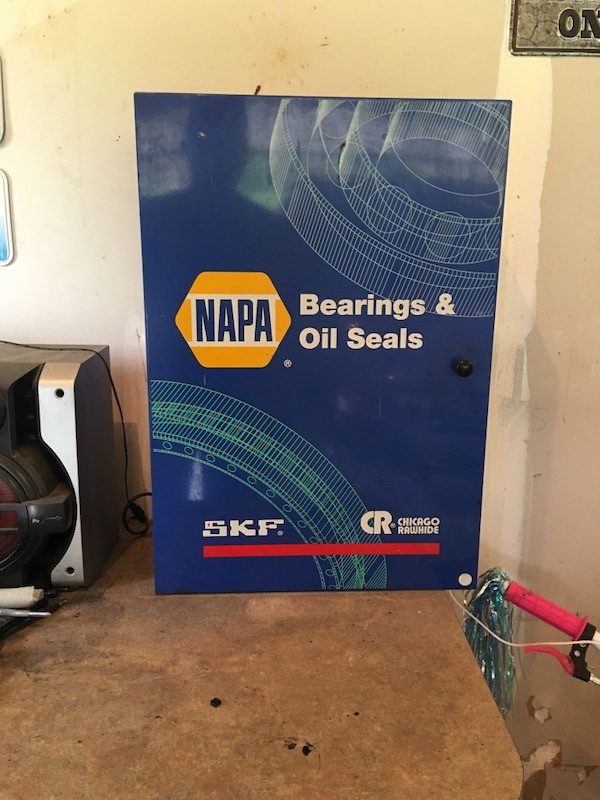Napa Bearings and Oil Seals box