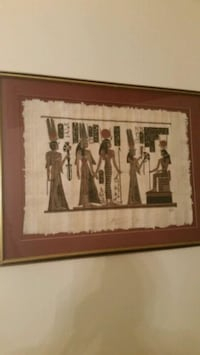 Framed Egyptian papyrus art  Orange Park, 32065