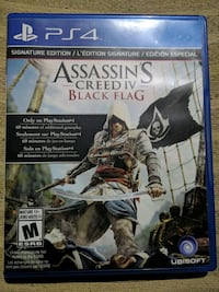 Assassins creed black flag ps4