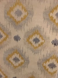 White, yellow, and blue floral textile Tempe, 85281