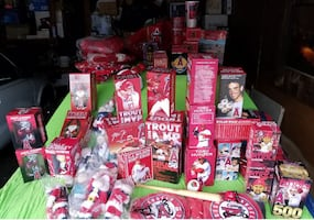Angels Bobbleheads, Hats and more