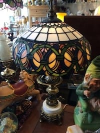 Small Stained Glass Lamp