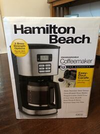 Hamilton Beach Coffee Maker Waterford, 06385