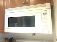 white and black microwave oven Toronto, M6M 1K8
