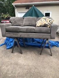 Beautiful, large,lightly used couch , 07755