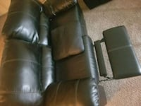 Black leather recliner  Baltimore, 21207
