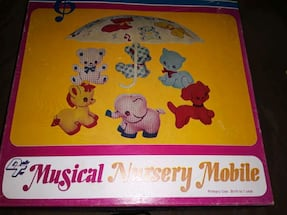 VINTAGE mobile never used , still in box