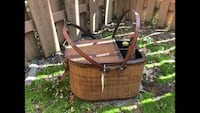 New vintage large wine basket/ picnic basket  Manassas Park, 20111