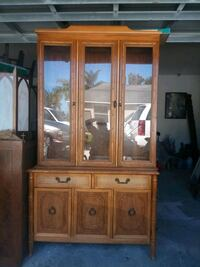 Vintage Broyhill Bamboo Cabinet