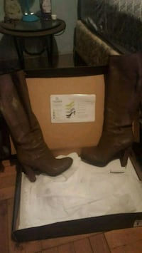 brown leather boots in good condition! East Stroudsburg, 18301