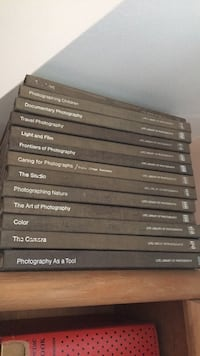 Collection of photography text books 28 km