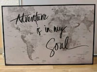 Map artwork- Adventure is my soul Campbell, 95008