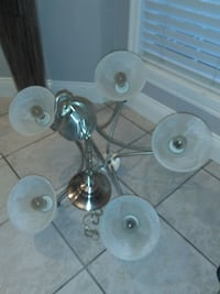 Beautiful stainless steel chandelier Maple Ridge, V4R 2W2