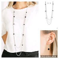 Collectively carefree black necklace  Gaithersburg