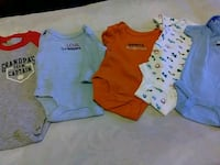 baby's four onesies Reading, 19601