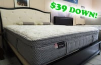 "14"" Luxury  Hybrid queen or King mattress"