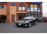 2010 Mercedes-benz E-Class E 550 4MATIC Sedan 4D Leesburg