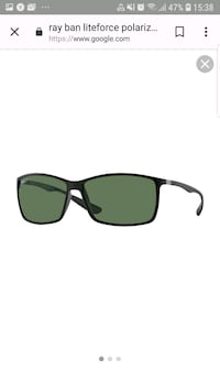 Ray‑Ban Liteforce Tech RB 4179 ‑ Matte Black/Green Arcore, 20862