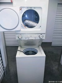 white and gray Arcelik front load washing machine Prince George's County, 20746