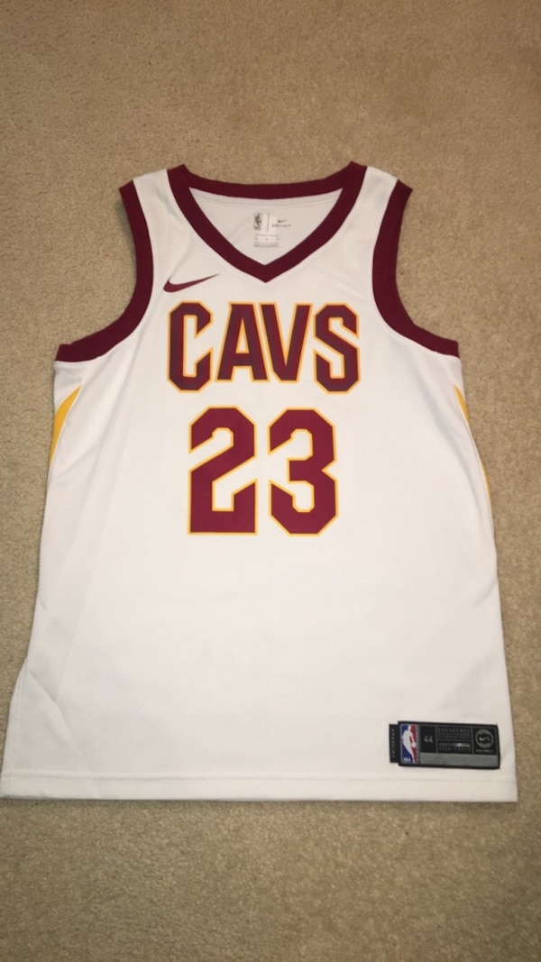 cheap for discount 1ea85 718aa Cleveland Cavaliers #23 Lebron James Basketball Jersey