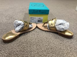 Jack rogers sandals size 5 for girls