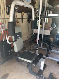 black and white exercise equipment Catonsville, 21244