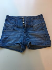 Blue Jean High Waist Shorts S West Linn, 97068