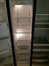 black and white single-door refrigerator Rockville, 20850