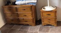 3 piece dresser set REAL WOOD Montréal, H8R 1R6
