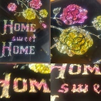 Vintage Home Sweet Home picture Foil Winnipeg, R2L 0X1