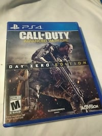 Call of Duty Advanced Warfare PS4 game case Amherstview, K7N 1B7