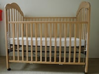Crib with mattress Arlington