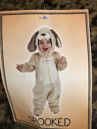 Baby Halloween Costume Dog size 6-9 months NEW with tag Leesburg, 20176