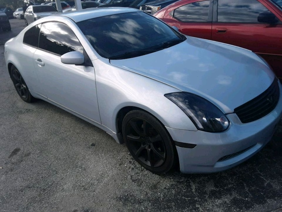 Used, silver Infiniti G35 coupe for sale  Cocoa