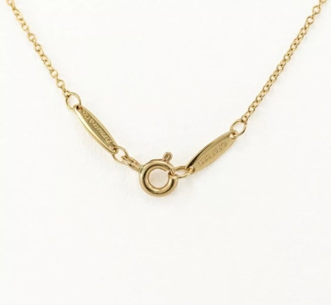 Tiffany and Co DBTY Necklace  3