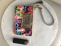 Limited edition Coach Wristlet